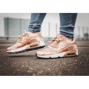 Nike Rose Gold Air Max 90